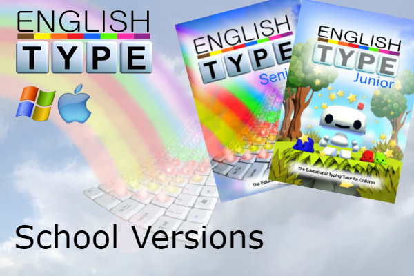 Englishtype Product - School Versions