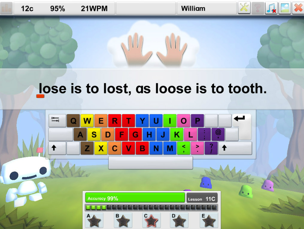 lose is to lost loose is to tooth